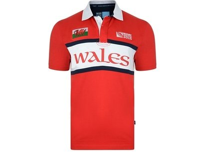 RWC15 Country Collection Camiseta Polo de Gales