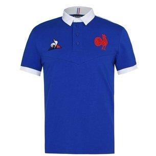Le Coq Sportif France 20/21 Home S/S Classic Shirt Mens