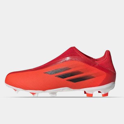 adidas X .3 Laceless Junior FG Football Boots