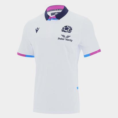 Macron Scotland Alternate Short Sleeve Classic Rugby Shirt 2021 2022