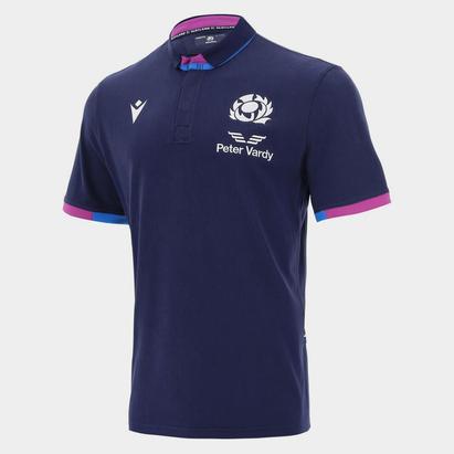 Macron Scotland Home Classic Rugby Shirt 2021 2022