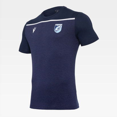 Macron Cardiff Blues T Shirt