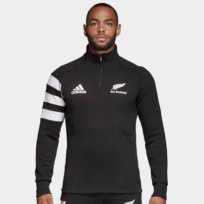 adidas Nueva Zelanda All Blacks 2019/20 Chaqueta con Cierre de Rugby
