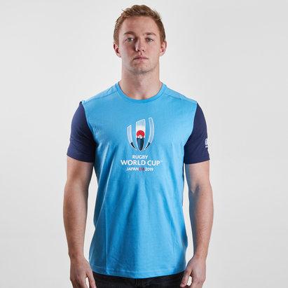 Canterbury RWC 2019 Comiseta Grafica de Algodon