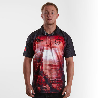 Samurai British Army Rugby Replica Shirt Mens