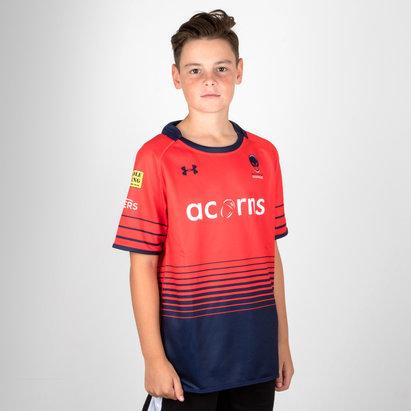 Under Armour Worcester Warriors 17/18 - Camiseta Alternativa para Niños