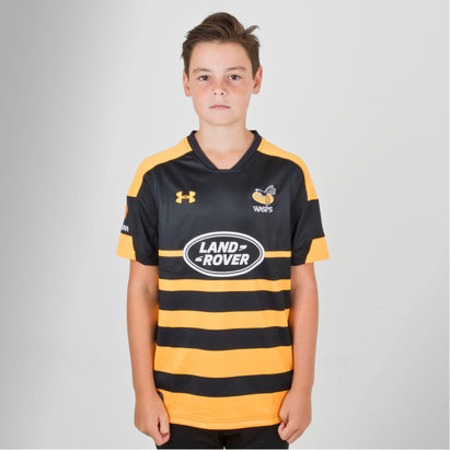 Under Armour Wasps 2018/19 Supporters - Camiseta de Rugby para Niños