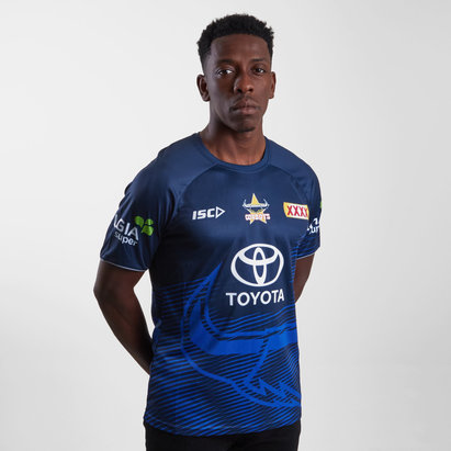 ISC North Queensland Cowboys NRL 2019 Players Rugby Training T-Shirt