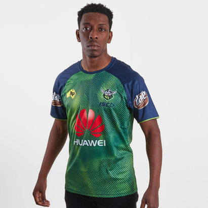 ISC Canberra Raiders NRL 2019 Players Rugby Training T-Shirt