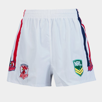 ISC Sydney Roosters NRL Kids Supporters Rugby Shorts
