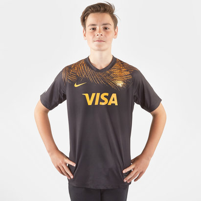 Nike Jaguares 2019 Home Camiseta Super Rugby para Niños