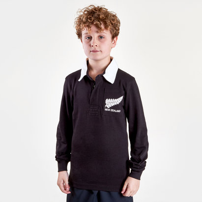 VX-3 New Zealand 2019/20 Kids Vintage Rugby Shirt