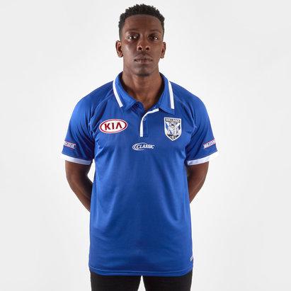 Classic Sportswear Canterbury Bulldogs 2019 NRL Players Media Rugby Polo Shirt