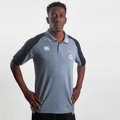 Canterbury England 2019/20 Cotton Pique Polo Shirt