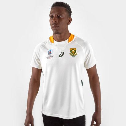 Asics South Africa Springboks RWC 2019 Alternate S/S Replica Rugby Shirt
