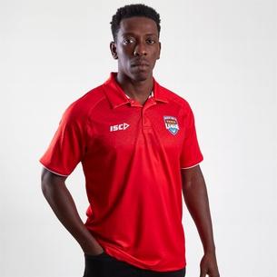 ISC Tonga Short Sleeve Polo Shirt Mens