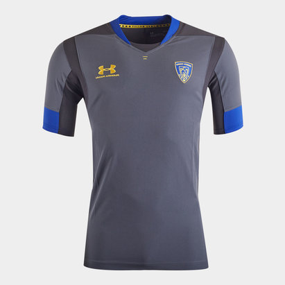 Under Armour Clermont Auvergne 2019/20 Players S/S Training Shirt
