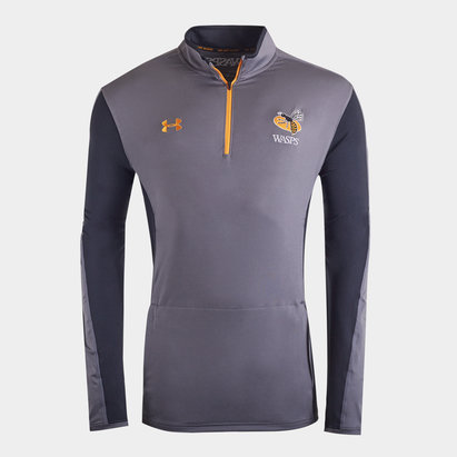 Under Armour Wasps 2019/20 Players 1/4 Zip Rugby Training Jacket