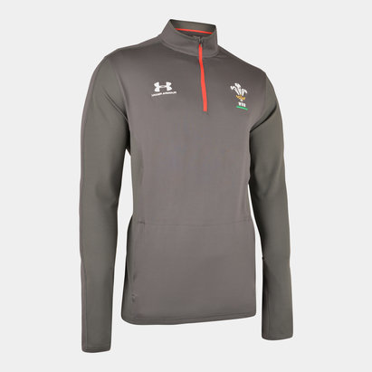 Under Armour Wales WRU 2019/20 Players 1/4 Zip Training Top