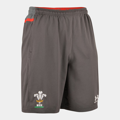 Under Armour Wales WRU 2019/20 Players Training Shorts