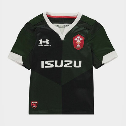 Under Armour Wales Rugby Alternate Shirt 2019 2020 Junior