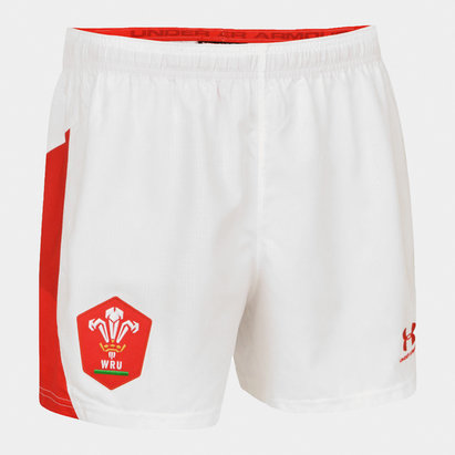 Under Armour Wales WRU 2019/20 Home Rugby Shorts