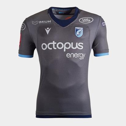 Macron Cardiff Blues 2019/20 Alternate S/S Replica Rugby Shirt