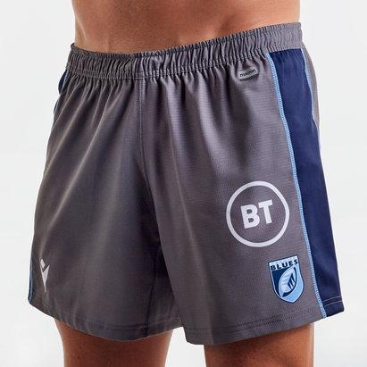 Macron Cardiff Blues 2019/20 Alternate Rugby Shorts