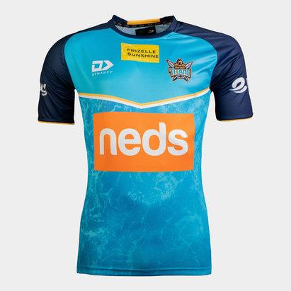 Dynasty Sport Gold Coast Titan T Shirt Mens