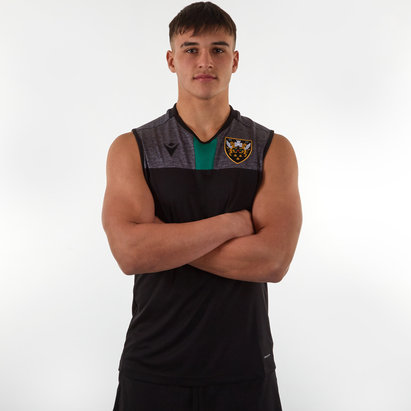 Macron Northampton Saints 2019/20 Players Rugby Training Singlet