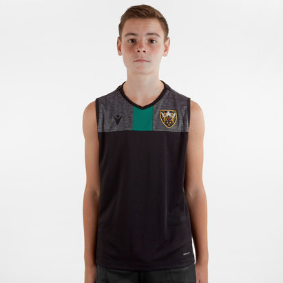 Macron Northampton Saints 2019/20 Kids Training Singlet