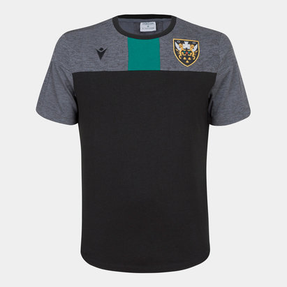 Macron Northampton Saints 2019/20 Players Rugby Training T-Shirt