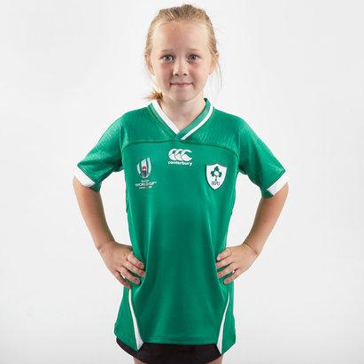 Canterbury Ireland RWC 2019 Home Pro Shirt Junior