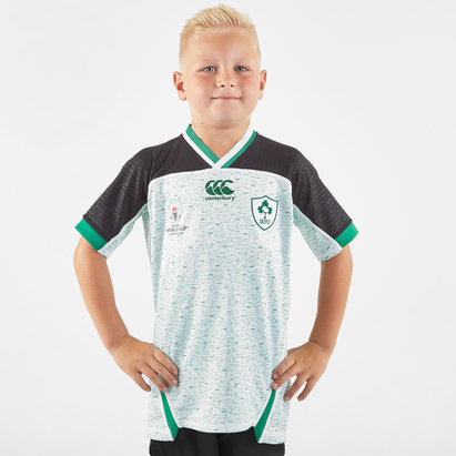 Canterbury Ireland RWC 2019 Alternate Pro Shirt Junior