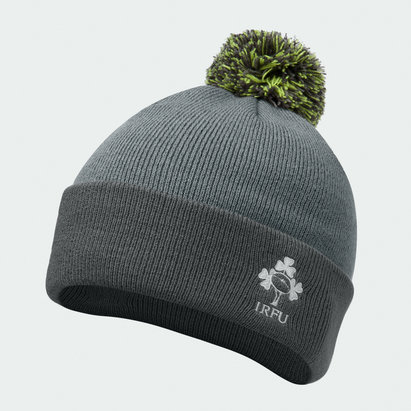Canterbury Ireland Rugby Bobble Hat Mens