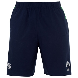 Canterbury Ireland 2019/20 Players Woven Gym Rugby Shorts