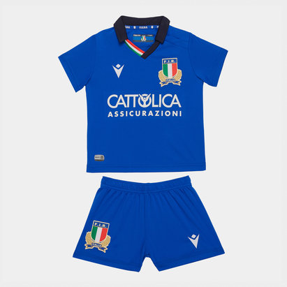 Macron Italy 2019/20 Home Mini Kids Replica Kit
