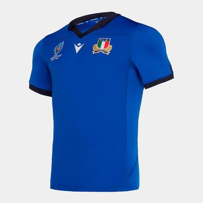 Macron Italia RWC 2019 Camiseta Local de Rugby