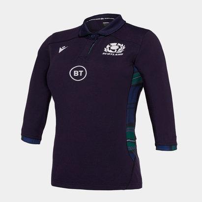 Macron Scotland 2019/20 Ladies Home Cotton Replica Rugby Shirt
