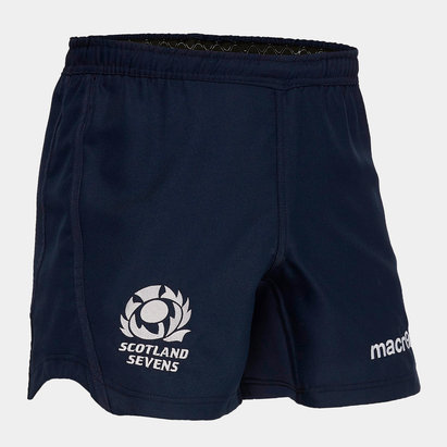 Macron Scotland 7s 2019/20 Home/Away Rugby Shorts
