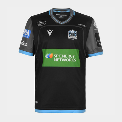 Macron Glasgow Warriors 2019/20 Home Replica Rugby Shirt