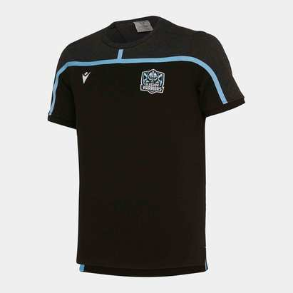 Macron Glasgow Warriors 2019/20 Kids Travel S/S T-Shirt