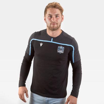 Macron Glasgow Warriors 2019/20 Travel L/S T-Shirt