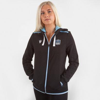 Macron Glasgow Warriors 2019/20 Ladies Cotton Hooded Sweat