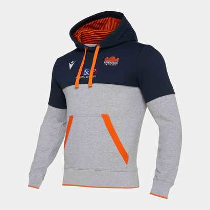 Macron Edinburgh 2019/20 Kids Performance Hooded Sweat