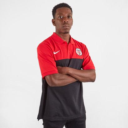 Nike Toulouse 2019/20 Players Pique Polo Shirt