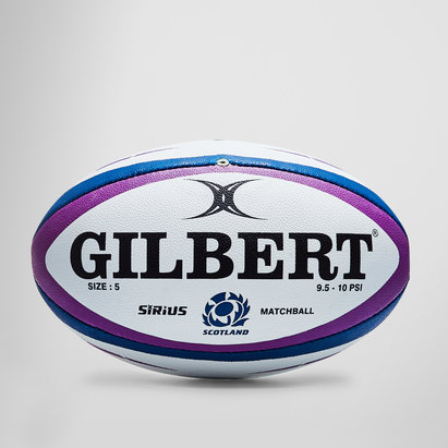Gilbert Scotland Sirius Match Rugby Ball