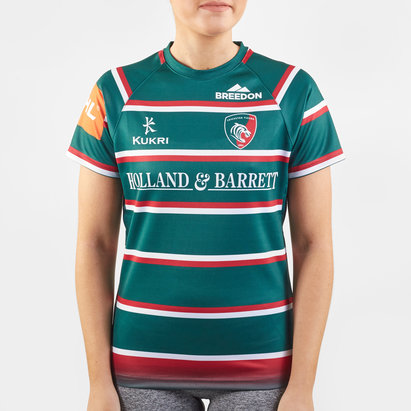 Kukri Leicester Tigers 2019/20 Home Ladies Replica Shirt