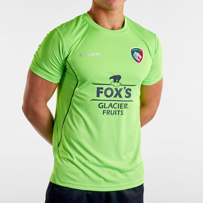 Kukri Leicester Tigers 2019/20 Players Training T-Shirt