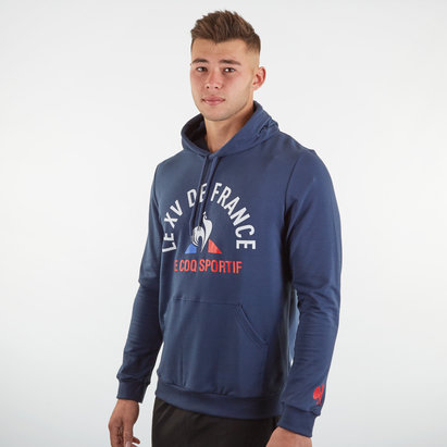 Le Coq Sportif France 2019/20 Supporters Hooded Rugby Sweat